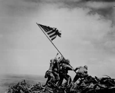 Pulitzer 1945 Raising The Flag On Iwo Jima