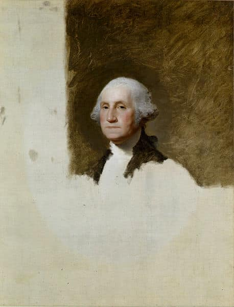 Retrato George Washington