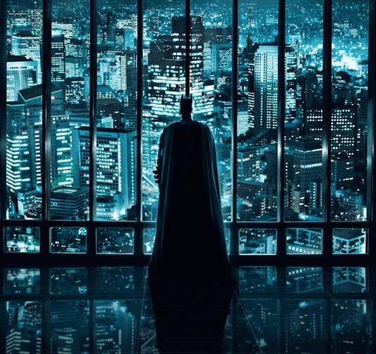 Escena Edificio Batman
