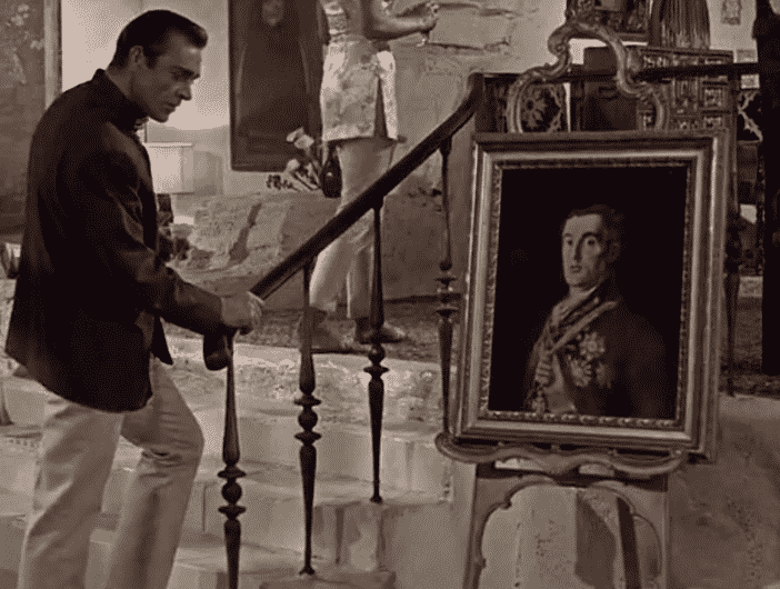 James Bond - Dr No - Goya - Duque de Wellington