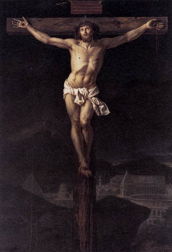 Jesucristo - Jacques-Louis David